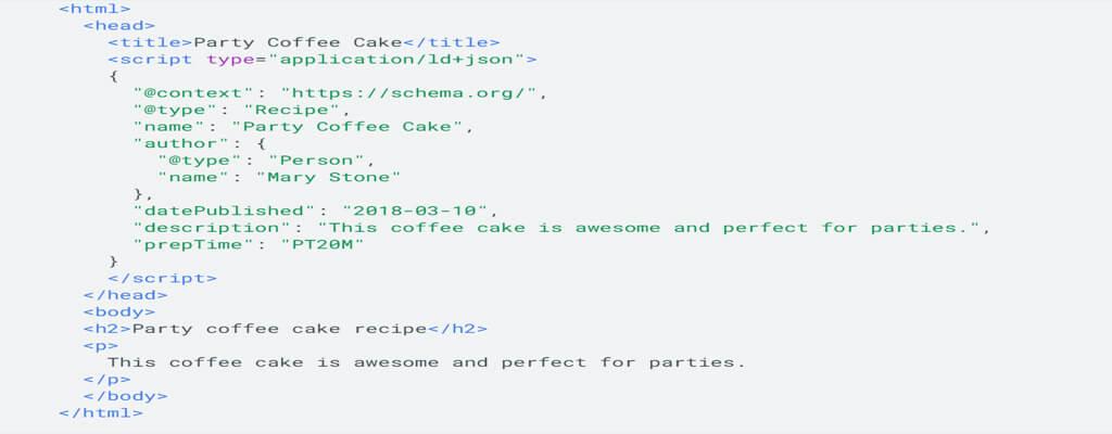 website schema
